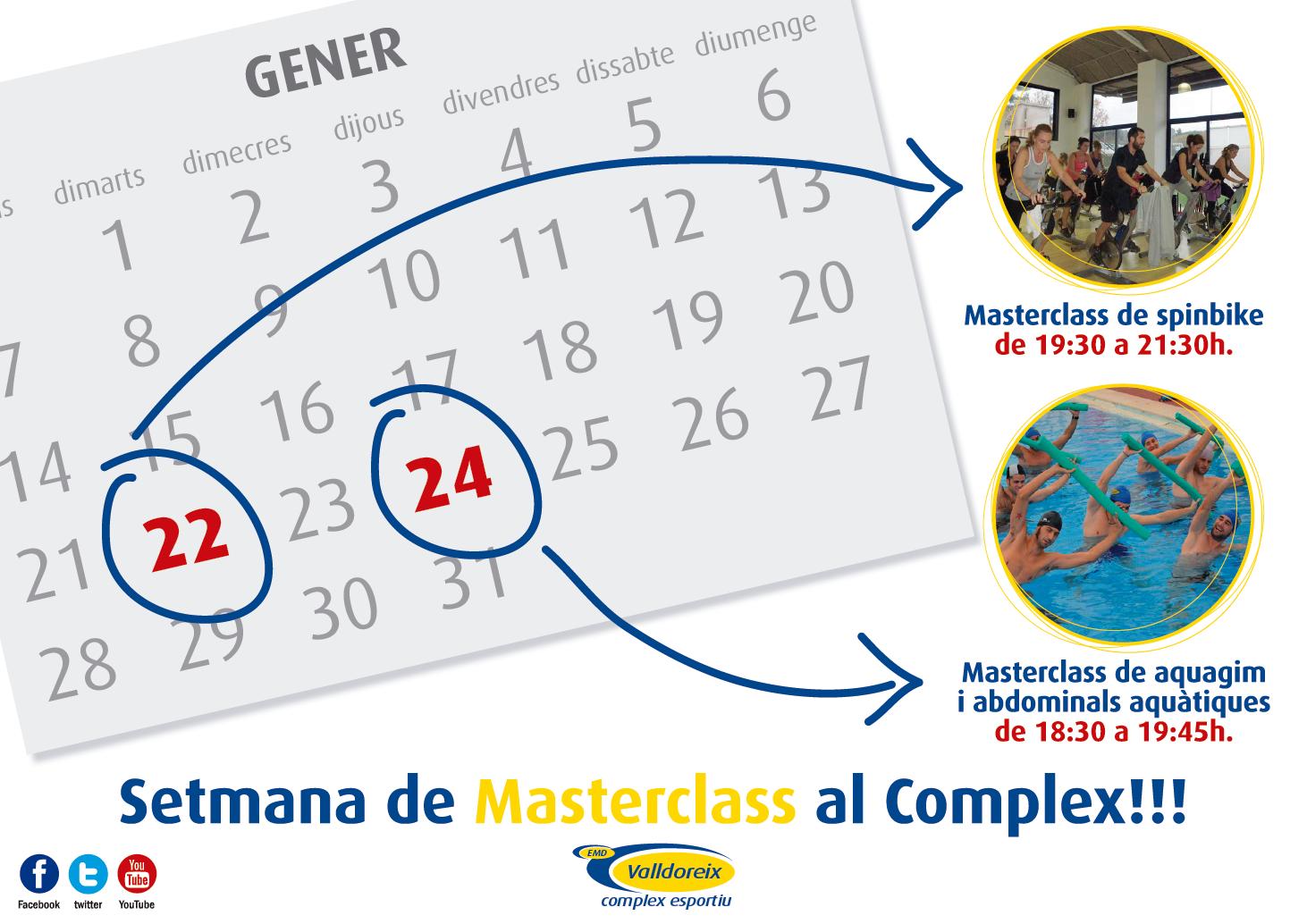 Setmana de MasterClass al Complex