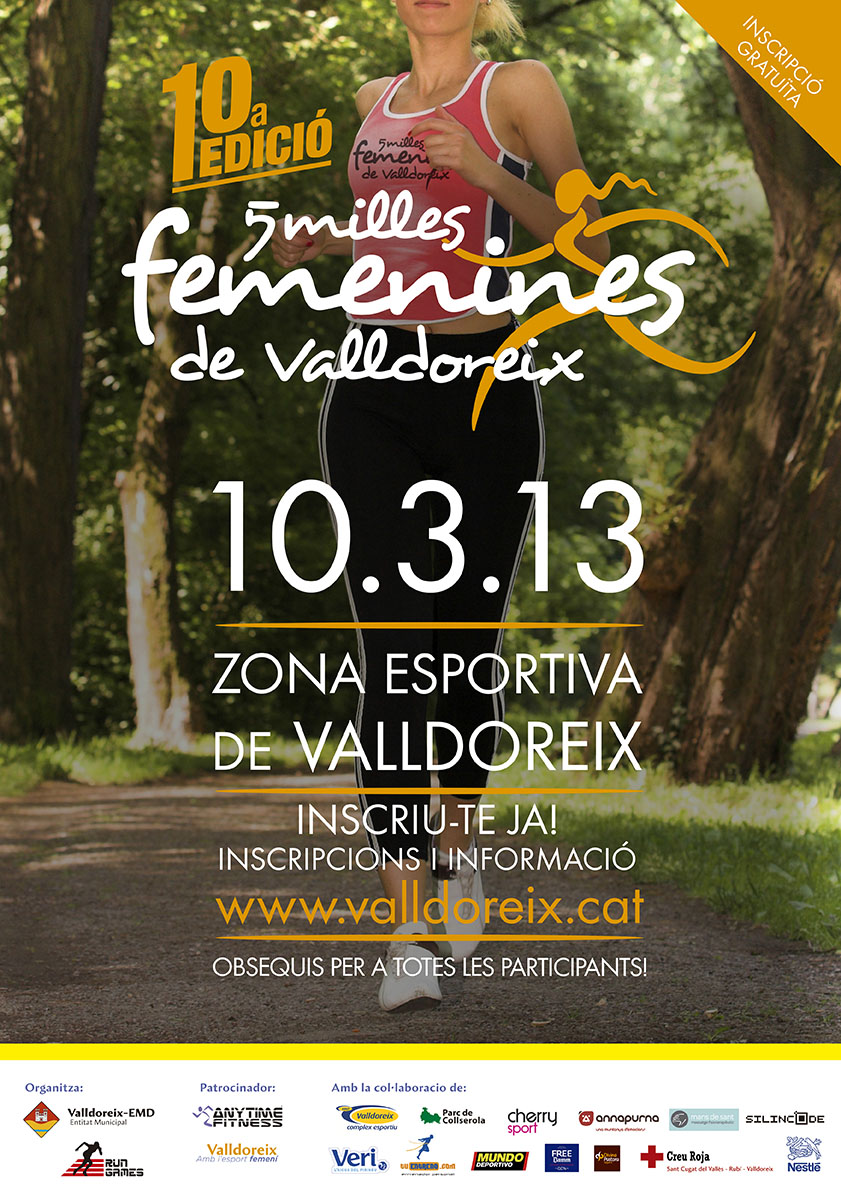 5 milles femenines de Valldoreix