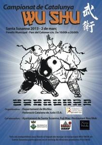 Campionat de Catalunya Wu Shu Santa Susanna 2013