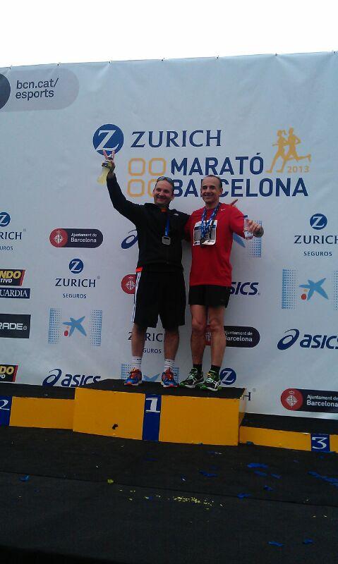 Felicitats per als participants a la Marató de Barcelona