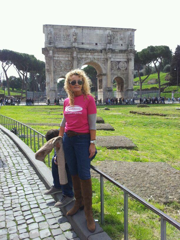 A Roma amb el Circ al fons