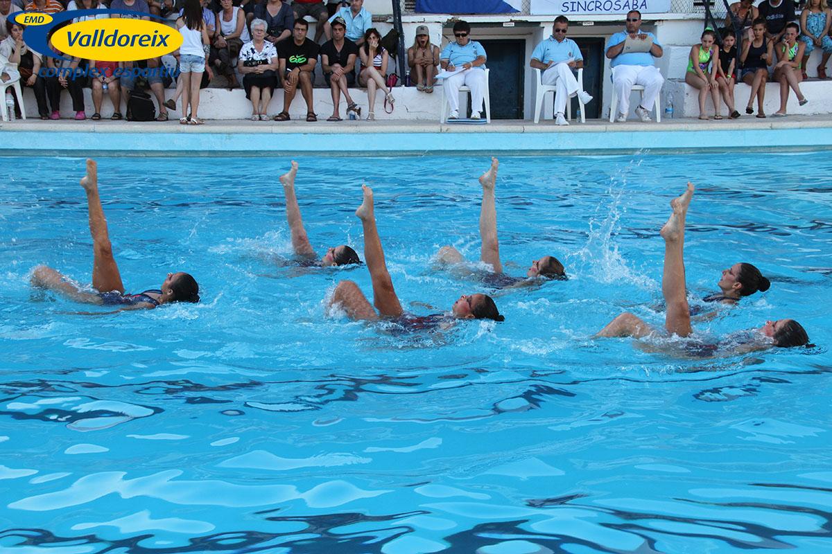 Natació Sincronitzada - Complex Esportiu Valldoreix 2013-03