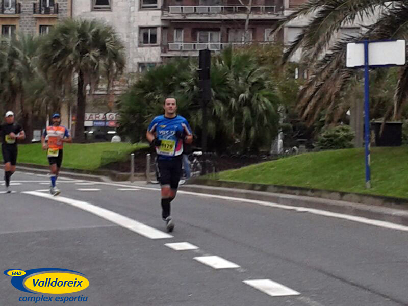 Jaume Valls fa podi a San Sebastián