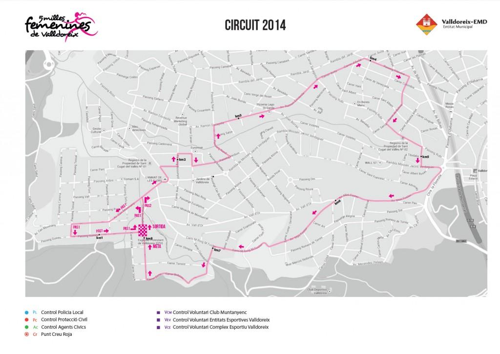 Circuit de les 5 Milles Femenines de Valldoreix 2014