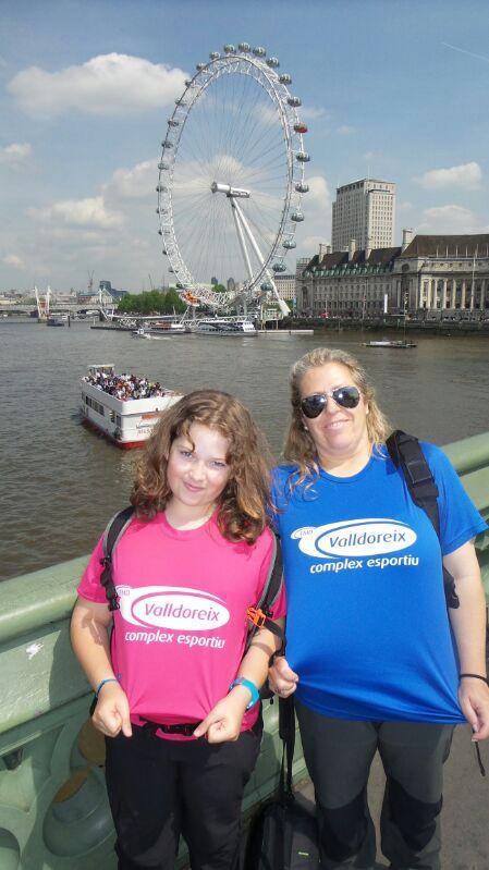 La Montse i la Paula ens porten a Londres