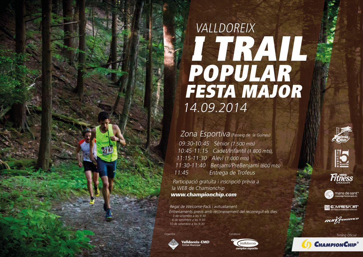 I Trail popular de Festa Major de Valldoreix