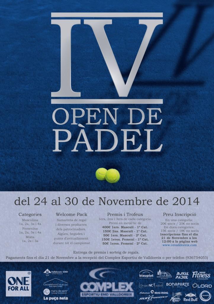 cartell-IV-open-padel