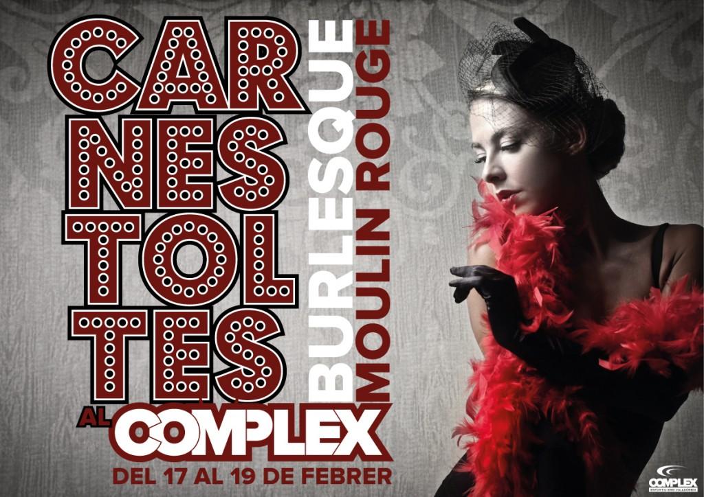 Cartell Carnestoltes al Complex 2015