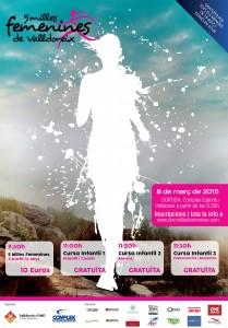 5 milles femenines 2015