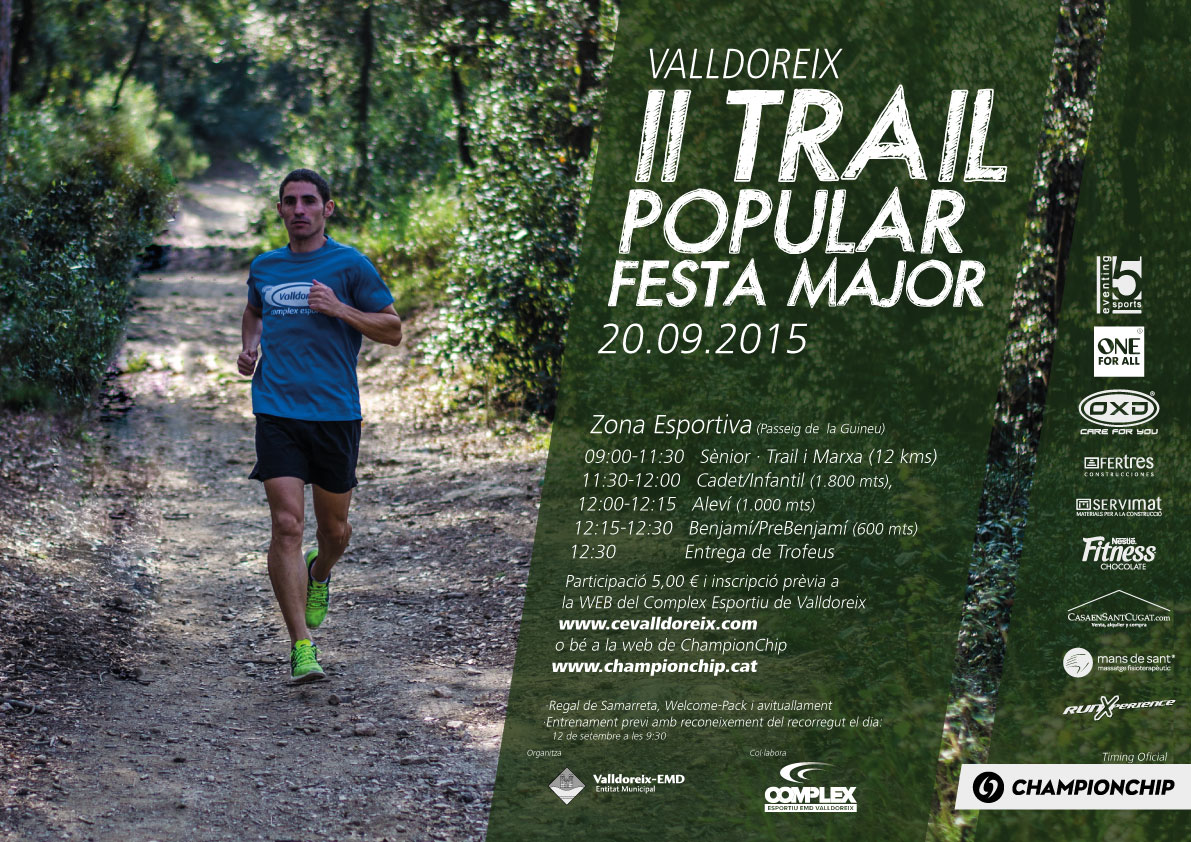 II Trail popular de Festa Major de Valldoreix