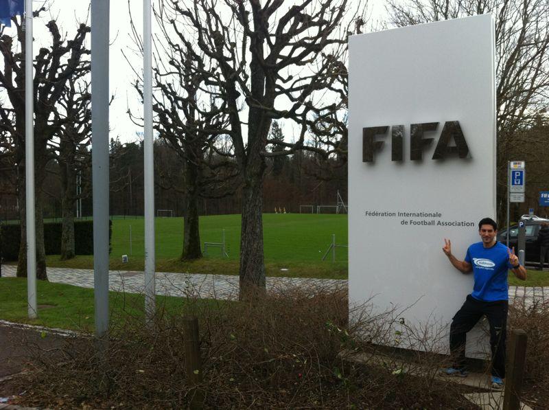 A Zurich, amb Messi