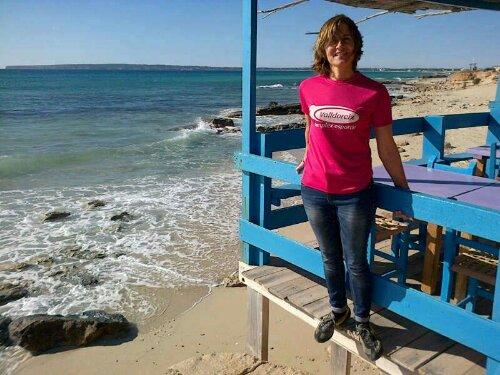 A Formentera amb la Lola!
