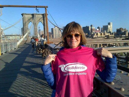 Al pont de Brooklyn amb la Lola